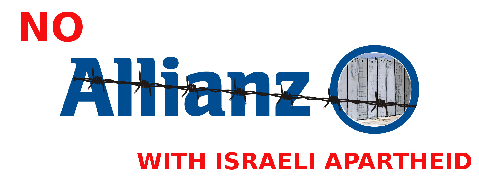 No Allianz with Israeli Apartheid