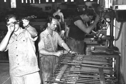 IMI factory, 1955