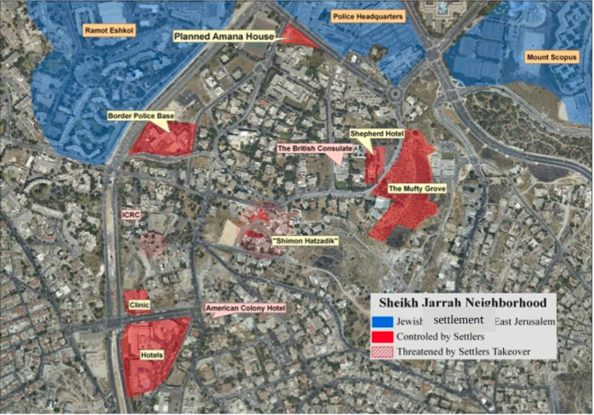 The Sabagh family in Sheikh Jarrah - eviction again looming
