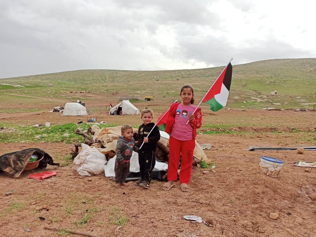 Resisting Israeli apartheid, Humsa residents remain on their village remains
